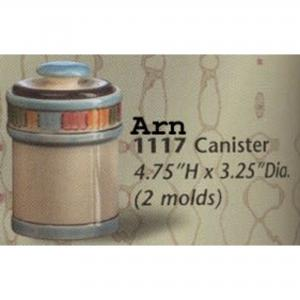 "Canister 4.75x3.25""d ,stockcode:MOAR1117"