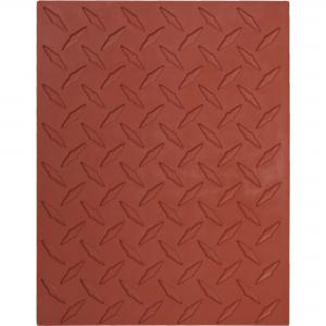 Diamond Plate D/Mat ,stockcode:MT-011