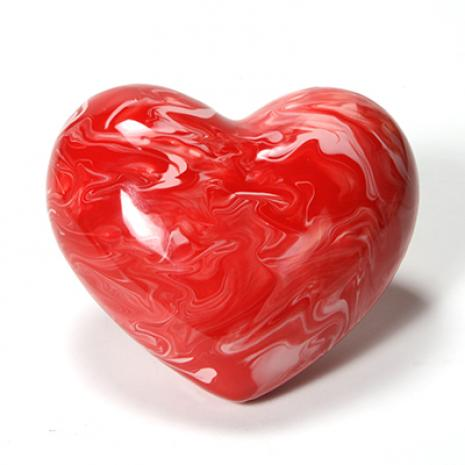 "Heart Paperweight:4c/s:6.5""x5.75""x2.75"",stockcode:BW-MB1322"
