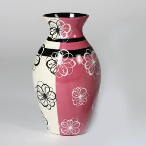 "Home Decor Vase:3c/s:9.5""x5.5"" ,stockcode:BW-MB1144"
