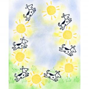 Sunshine Puppies (3) ,stockcode:SAN-02008