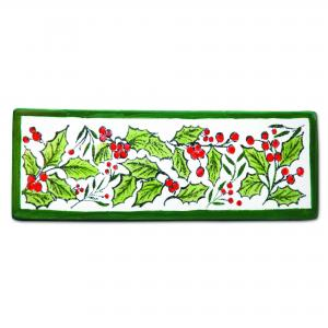 Holly Border Stamp ,stockcode:ST-107