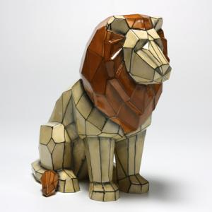 Faceted Lion ,stockcode:BW-MB1476