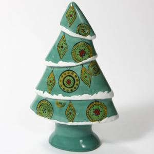 "Funky Christmas Tree:4c/s:11""x7""x3"" ,stockcode:BW-MB1095"