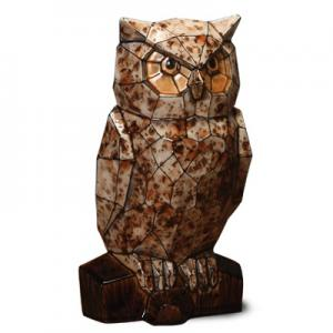 Faceted Owl ,stockcode:BW-MB1477