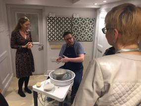 Pottery at exclusive Sophie Conran event