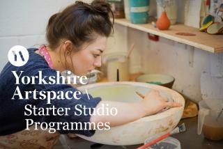Potclays sponsor Yorkshire Artspace project