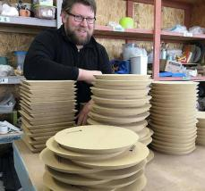 GR Pottery Forms come to the UK
