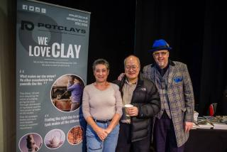 Potclays supports DCPG and Anglian Potters