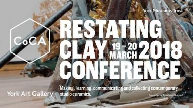 Potclays supports CoCA's Restating Clay conference