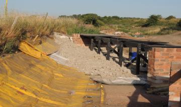 CANAL TRUST MAKES PROGRESS ON FEAT OF CLAY