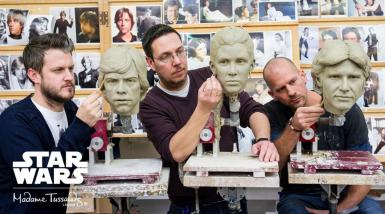 Potclays Clay in Star Wars at Madame Tussauds