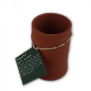 Very Hard Etruscan Red Slabbing Clay 159-1139A: 1060-1160C, stockcode:159-1139A