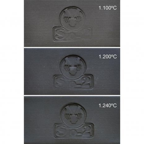 Vulcan™ Black Stoneware (Fine) 164-VUF: 1200-1240C, stockcode:164-VUF