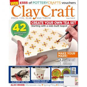 ClayCraft Magazine Issue 3,stockcode:9M9296-09