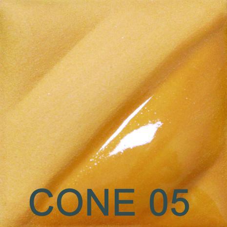 Deep Yellow 2oz jar velvet underglaze, stockcode:4V309