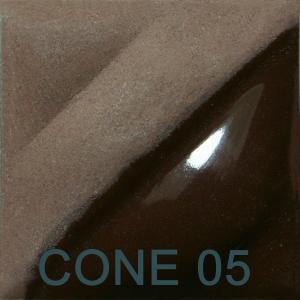 Chocolate Brown 2oz jar velvet underglaze, stockcode:4V314