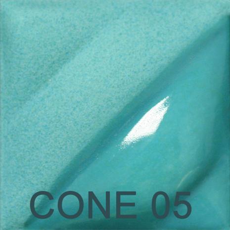 Turquoise Blue 2oz jar velvet underglaze, stockcode:4V327