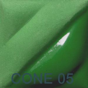 Dark Green 2oz jar velvet underglaze, stockcode:4V353
