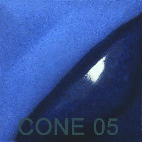 Electric Blue 2oz jar velvet underglaze, stockcode:4V386