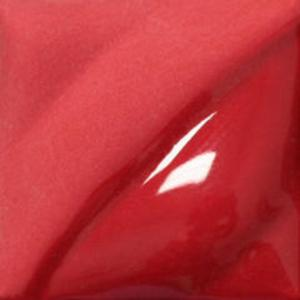 Bright Red 2oz jar velvet underglaze, stockcode:4V387
