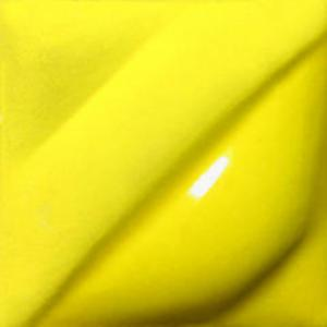 Intense Yellow 1 pint jar velvet underglaze, stockcode:4V391/1