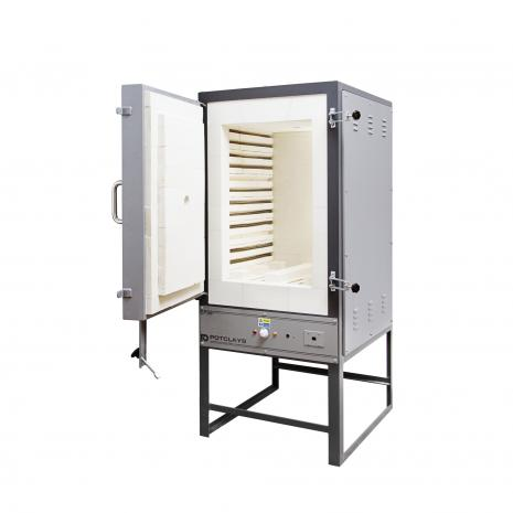 EP45 Front-loading kiln, complete with T/C & ST215 Controller, stockcode:800-4045P