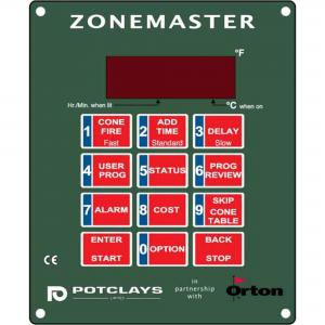 Potclays Zonemaster MultiZone Kiln Controller complete in Wallbox, stockcode:814-6050
