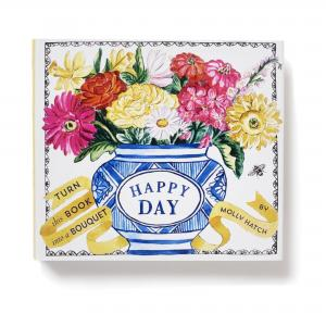 Happy Day (Bouquet in a Book) by Molly Hatch, stockcode:9K9295-16