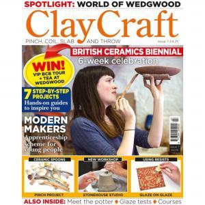 Claycraft Magazine Issue  7,stockcode:9M9296-12