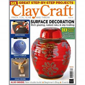 Claycraft Magazine Issue 20, stockcode:9M9296-25