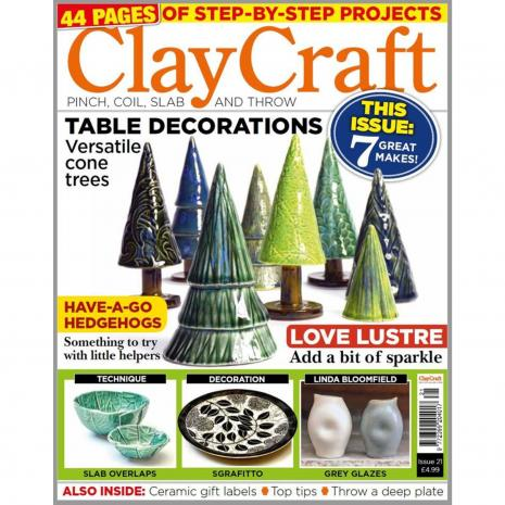 Claycraft Magazine Issue 21, stockcode:9M9296-26