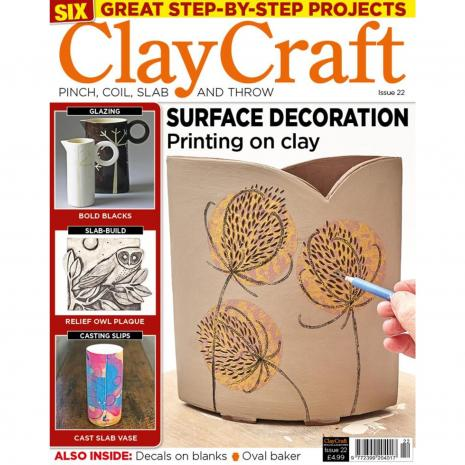 Claycraft Magazine Issue 22, stockcode:9M9296-27