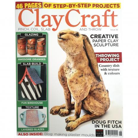ClayCraft Magazine Issue 26, stockcode:9M9296-31
