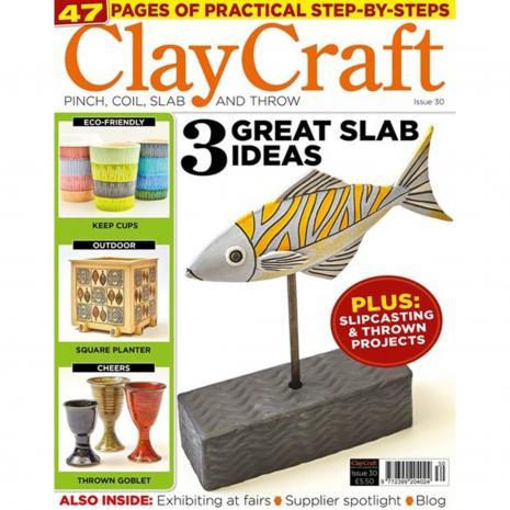 Claycraft Magazine Issue 30, stockcode:9M9296-35