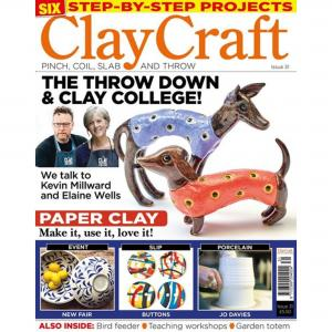 Claycraft Magazine Issue 31, stockcode:9M9296-36