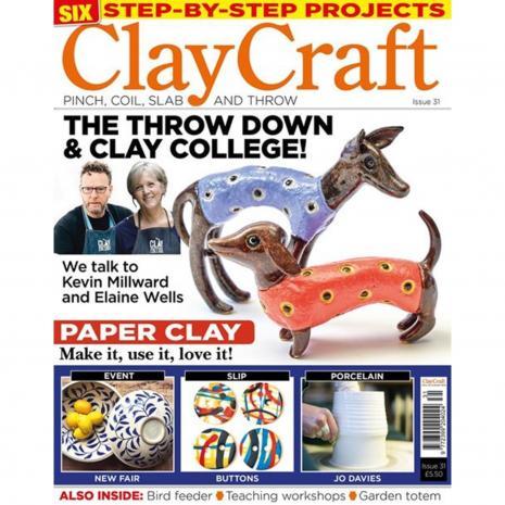 Claycraft Magazine Issue 31, stockcode:9M9296-36