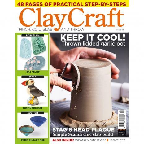 ClayCraft Magazine Issue 33, stockcode:9M9296-38