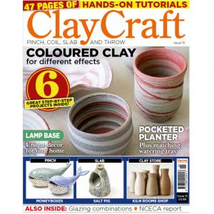 Claycraft Magazine Issue 15, stockcode:9M9296-20
