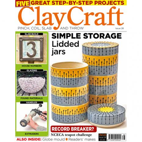 ClayCraft Magazine Issue 28, stockcode:9M9296-33