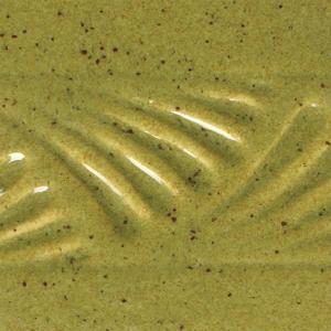 Cone 5/6 Brush On Glaze: PC-29  PT  DEEP OLIVE SPECKLE    , stockcode:PC-29/P