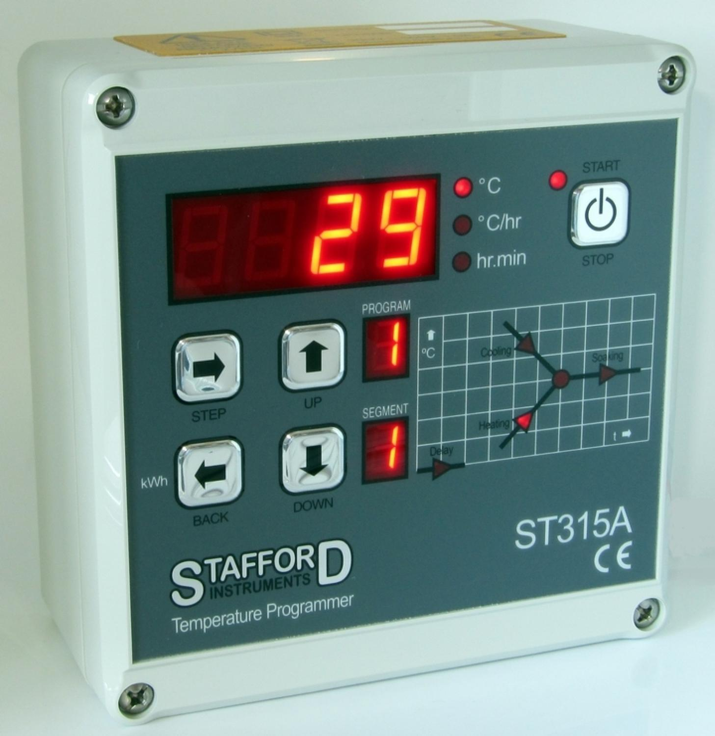 Temperature Controllers Potclays Studio Electric Kiln Relay Stafford St315a Controller