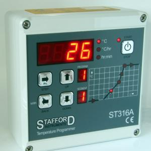Stafford ST316B kiln temperature controller, stockcode:814-6074