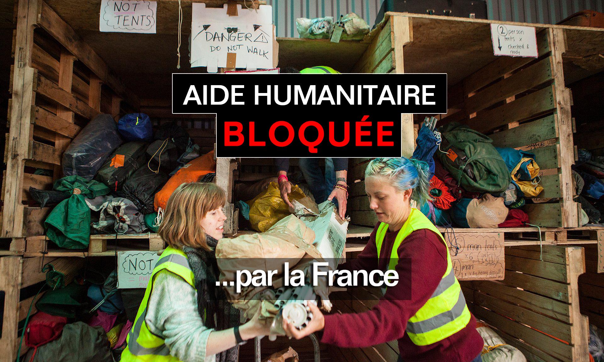 Powerfoule laissez passer l 39 aide humanitaire pour les for Aide de l etat pour renovation