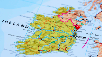 Map Of Ireland As Gaeilge.Quiz Can You Translate Every County From English To Irish Lovin Ie