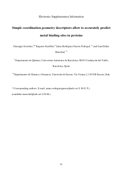 Simple Coordination Geometry Descriptors Allow to Accurately Predict