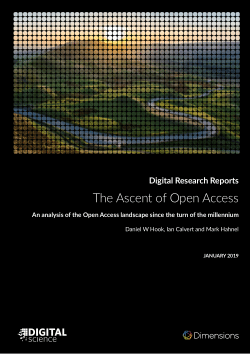 The Ascent of Open Access