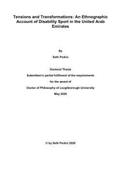 sports science dissertation topics