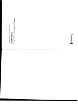 """""""Die Entweltlichung der Bühne. Zum Raumregime des Theaters der klassischen Episteme"""", in: Raumlektüren. Der Spatial Turn und die Literatur der Moderne, eds. Tim Mehigan/Alan Corkhill. Bielefeld: Transcript, 2013: 39-54"""