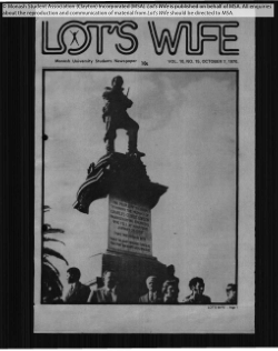Lot's wife volume 10 issues 1-17 1970